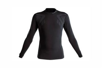 camiseta negra entrenar