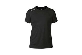 camiseta termica negra manga corta